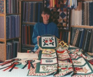 Strawberry Fayre 25th Anniversary quilt competition