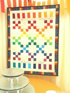 Jamie & Jo's Wedding Quilt