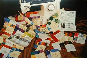 Assembly of the 30th Anniversary Quilt