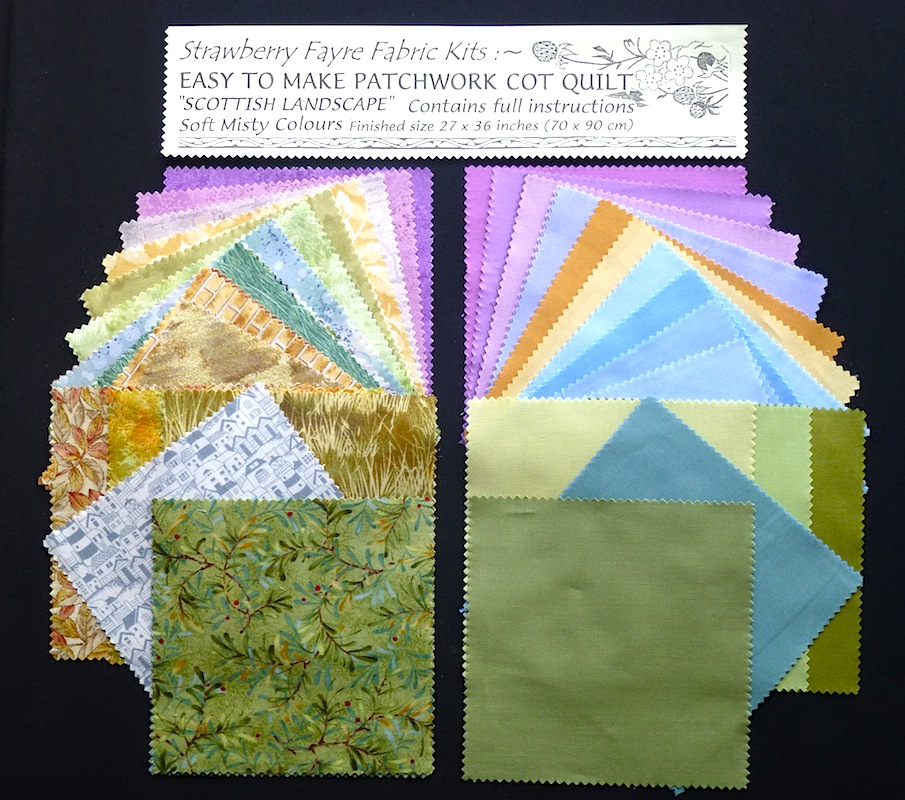 Landscape Quilt Patterns Kits : News / Info : Strawberry Fayre Fabrics